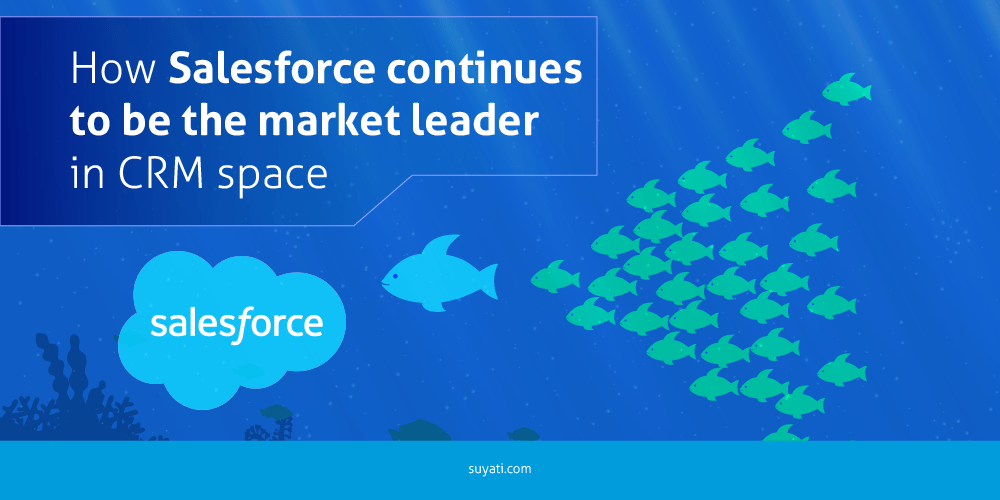 How Salesforce continues to be the market leader in CRM space