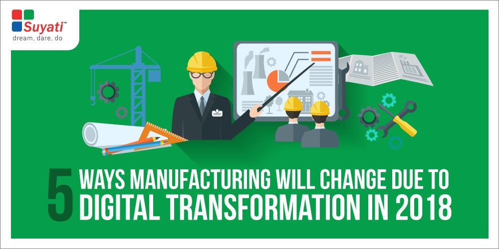 Digital Transformation Trends in Manufacturing – How to Build Factories of the Future