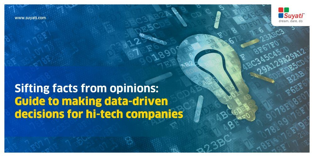 How can companies ditch that gut feeling and make decisions based on data?